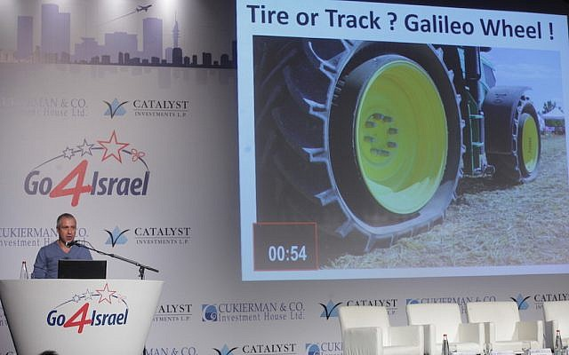 With innovative tire, Israeli start-up reinvents the wheel