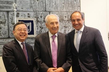 מיליארדר סיני יקבל פרס על תרומתו למשק הטכנולוגיה בישראל