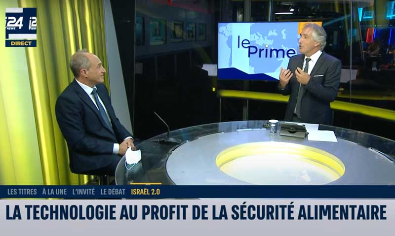 Security-Food : Edouard Cukierman speaks about Israel-UAE relationship (french)